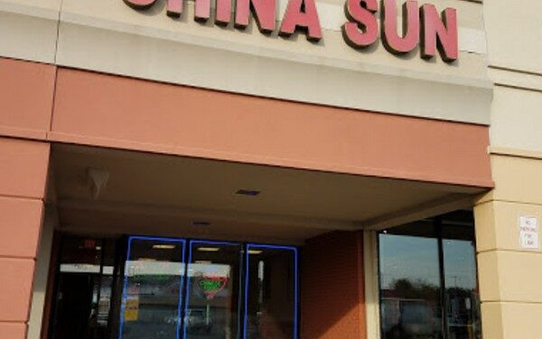 Inspection China Sun in Bensalem finds dead mouse in pan of water on floor catching a leak, Evidence of baiting with peanuts was observed