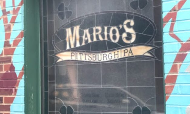 """Mario's East Side Saloon in Pittsburgh inspection; 9 violations, """"Old mouse droppings observed in the following areas: dry storage, cabinets of lower bar, servers station, shelving of 2nd level bar."""""""