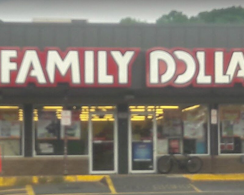 """Easton Family Dollar fumbles inspection; """"A live mouse was observed in the receiving area of the store and mouse droppings were also observed in this area"""""""