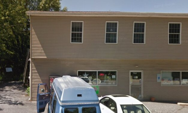 Valley Store outside Harrisburg inspection; Three bay sink observed with build up of filth, mold and food residue, changing tasks that may have contaminated hands without a proper handwash