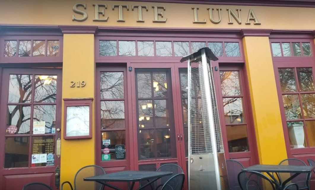 Flies in dish room, around the bar; Sette Luna in Easton bombs inspection with 10 violations