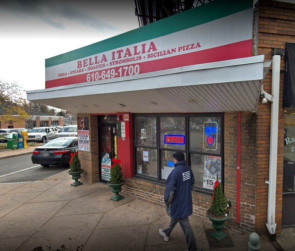 Bella Italia bumbles inspection in Ardmore; Rodent-like droppings observed near mixer in kitchen, Fly-like insects observed in facility