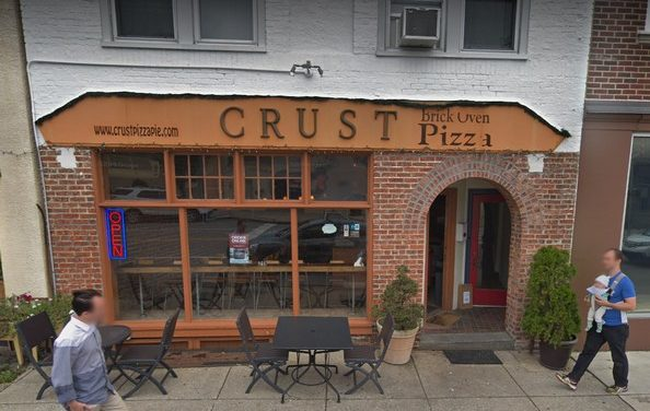 "Crust Brick Oven Pizza, ""Mouse like dropping on floor behind 2 door reach in"", 6 violations for Bryn Mawr Restaurant"