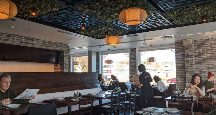 22 inspection violations for Horsham's Dim Sum Factory, ordered to stop using washing machine not sanitizing dishes as required