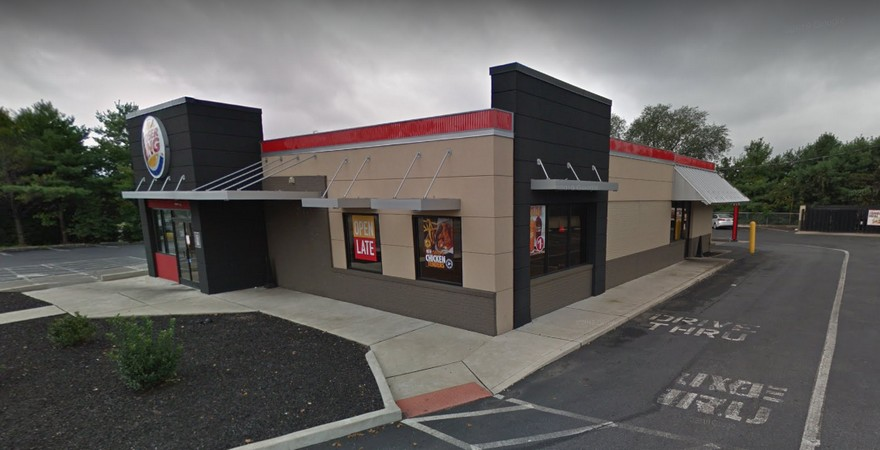5 inspection violations for Whitehall Burger King; floors throughout the facility are littered with old food, trash, and accumulated grease