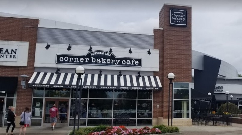 "Repeat violations; Corner Bakery Cafe in Horsham fumbles inspection; Health Department says fix bad equipment or, ""Failure to comply may result in immediate legal actions""  11 violations"