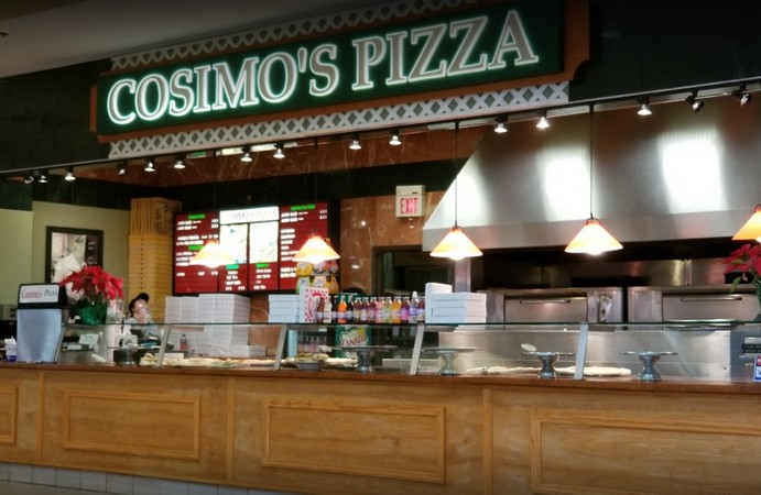 7th time Rodent droppings found, 11 violations says Health Department about Cosimo's Pizza in Willow Grove Park Mall
