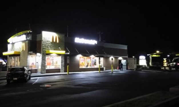 Fairless Hills McDonald's fails inspection;  Interior baffle within the ice machine contains a pink, mold-like substance, 4 violations