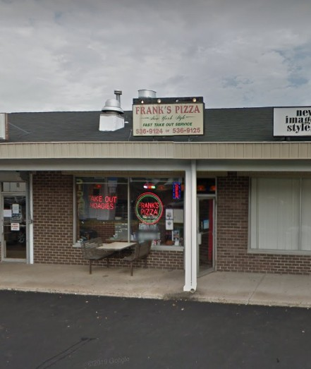 Frank's Pizza Quakertown fails 16th straight inspection; employees handling dirty silverware and raw meat then handle clean silverware, medicines stored with food, utensils, clean wares