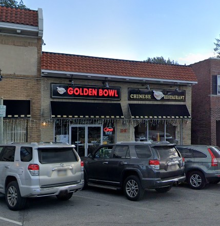 Rodent droppings found at Golden Bowl Chinese Restaurant in Ardmore during Health Department Inspection; 13 violations