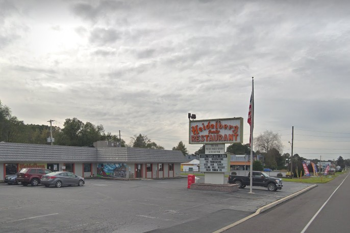 "27 inspection violations for Robesonia's Heidelberg Family Restaurant; ""Soiled linens stored under and in equipment on the cook line area which may contaminate food, utensils, or equipment"""