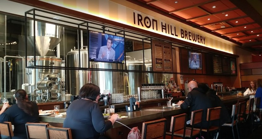 """""""Spatulas stored in stagnant room temperature water on cooks line,"""" Iron Hill Brewery and Restaurant in Huntingdon Valley slapped with 14 violations"""