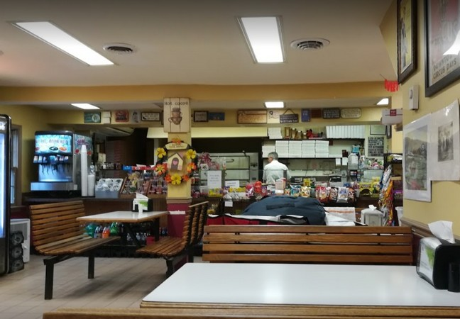 Skippack Pizza hit with 15 violations; Interior of pizza bain-marie unclean, Walls throughout kitchen area unclean,  Shelving throughout kitchen area unclean