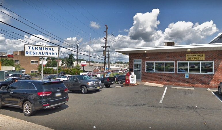 Terminal Restaurant fumbles inspection in Willow Grove; Rodent-like droppings observed on floor throughout basement along perimeter