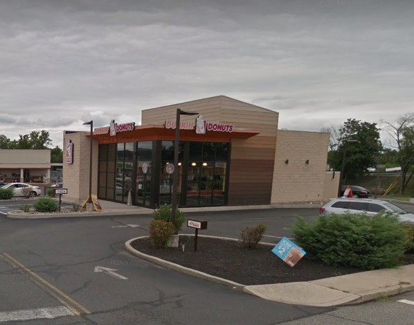 Health Department orders Dunkin' Donuts Boyertown to stop unapproved construction following complaint, plastic sheet between construction and food prep