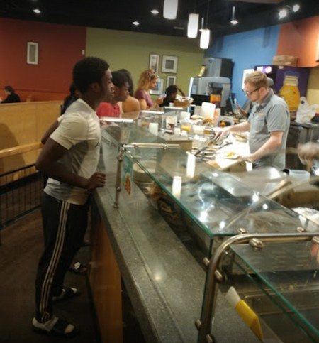 Fly-like insects observed near restrooms of facility at Qdoba Mexican Grill Bala Cynwyd, 11 violations says Health Department