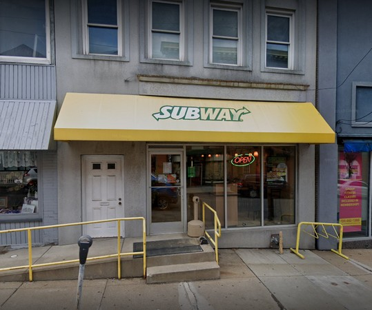 Subway in McDonald bumbles inspection; stop using ice machine- black slime on a cylinder in the reservoir in direct contact with water