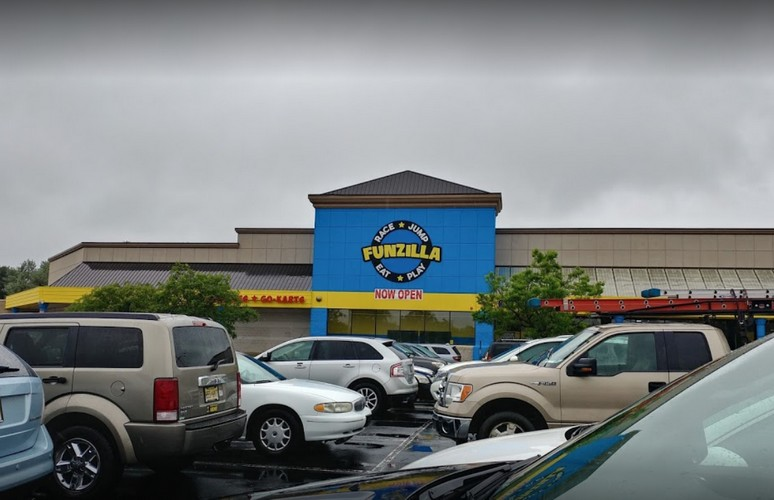 """Funzilla in Fairless Hills hit following inspection for, """"A pink, mold-like substance is present on the baffle within the ice machine"""" a food borne risk factor violation"""