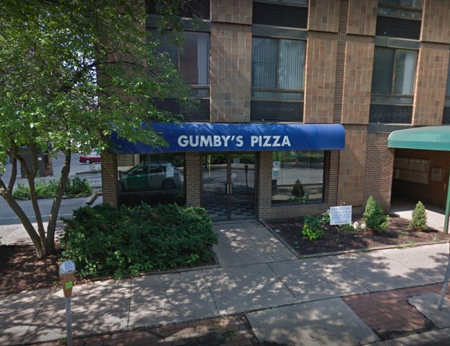 CLOSED:  Gumby's Pizza in State College; Food prep table used as bed for tattooing, contamination from blood could have sprayed onto food contact surfaces, or the dough mixer