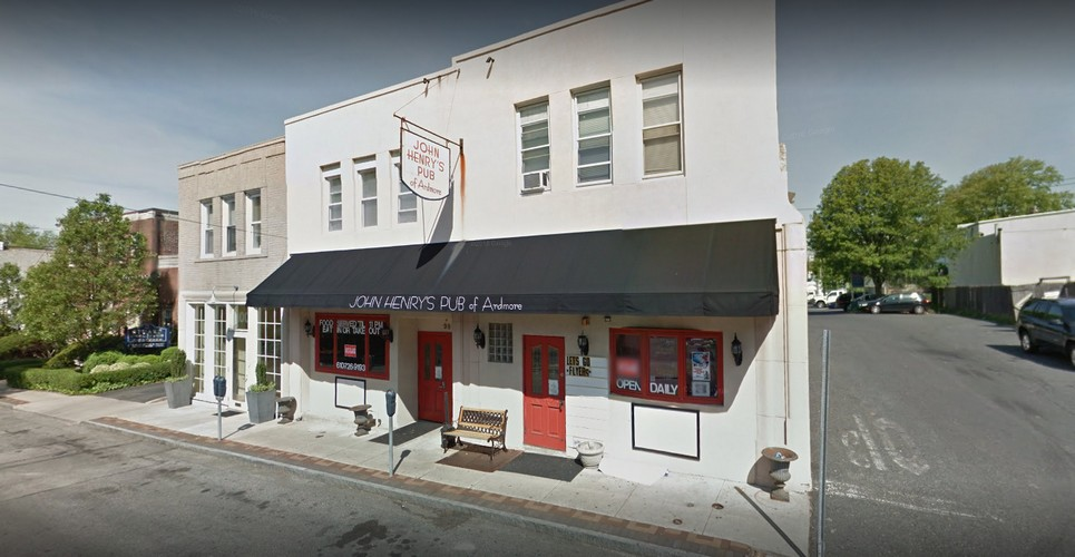 John Henry's Pub in Ardmore blunders inspection; Rodent-like droppings observed in the basement, hot water valve at bar hand sink is hard to turn on, 7 violations