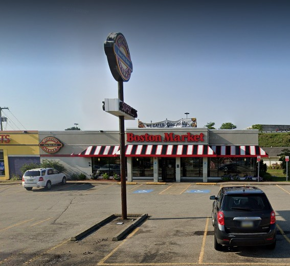 Greensburg Boston Market fouls inspection; 11 violations, 8 cs of whole raw chicken were observed past the use by date of 3/29/20 in the walk in cooler and were intended for use in the food facility