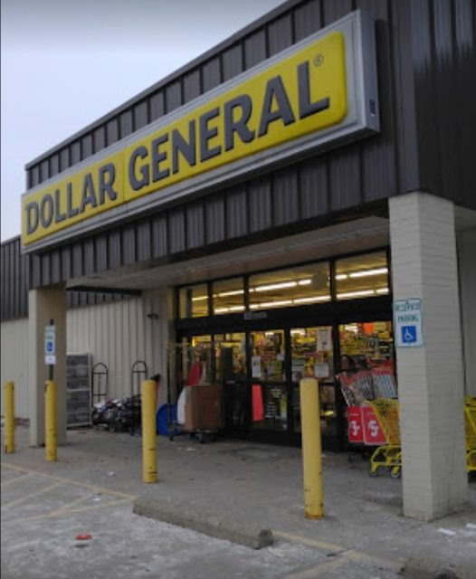 Canonsburg Dollar General blows inspection; dead mice in a trap in storage area, Unable to inspect store room due to overcrowding of old stock