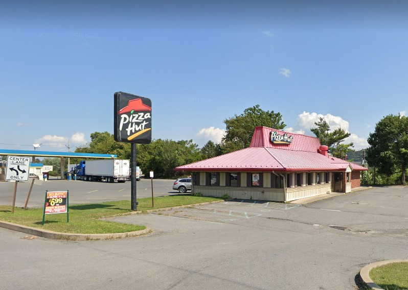 Inspection at Shamokin Dam Pizza Hut; Dishwasher has build up of filth and food residue and not cleaned before use, 4 violations