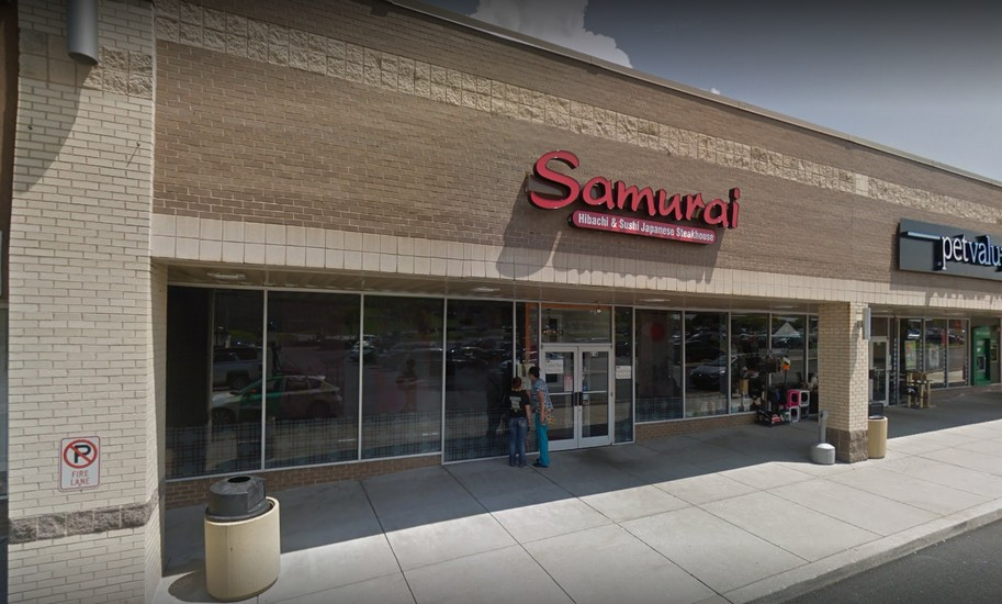 """Samurai Hibachi in Shrewsbury bumbles inspection; """"20-30 droppings by water heater, """" no pest control program and 13 violations"""
