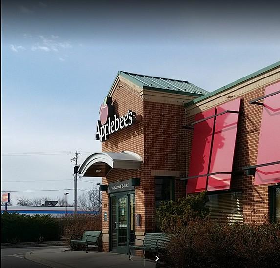 "Applebee's in East York inspection; 20-40 ""clean"" stainless steel pans having old caked on food reside/spalsh/soil inside of pans, 5 violations"