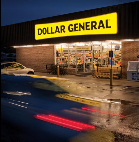 Inspection at New Brighton Dollar General; Rodents- Large number of old droppings observed on shelving