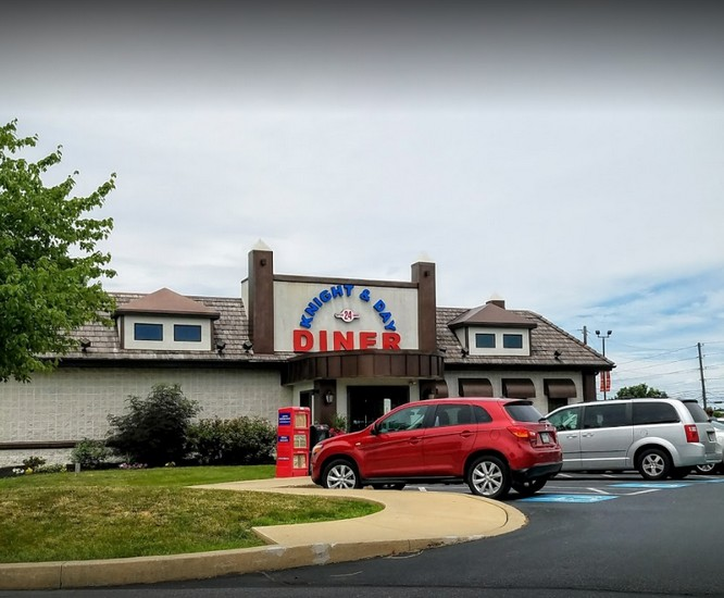 Inspection at Knight & Day Diner in Lititz slapped with 13 violations; no sanitizer in dish washer, can opener blade, a food contact surface, contained food residue