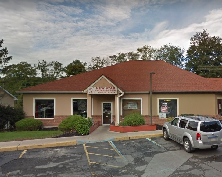 12 violations at New Star Chinese and Thai Restaurant in Bartonsville; Rice cooking equipment with encrusted grease and soil accumulation