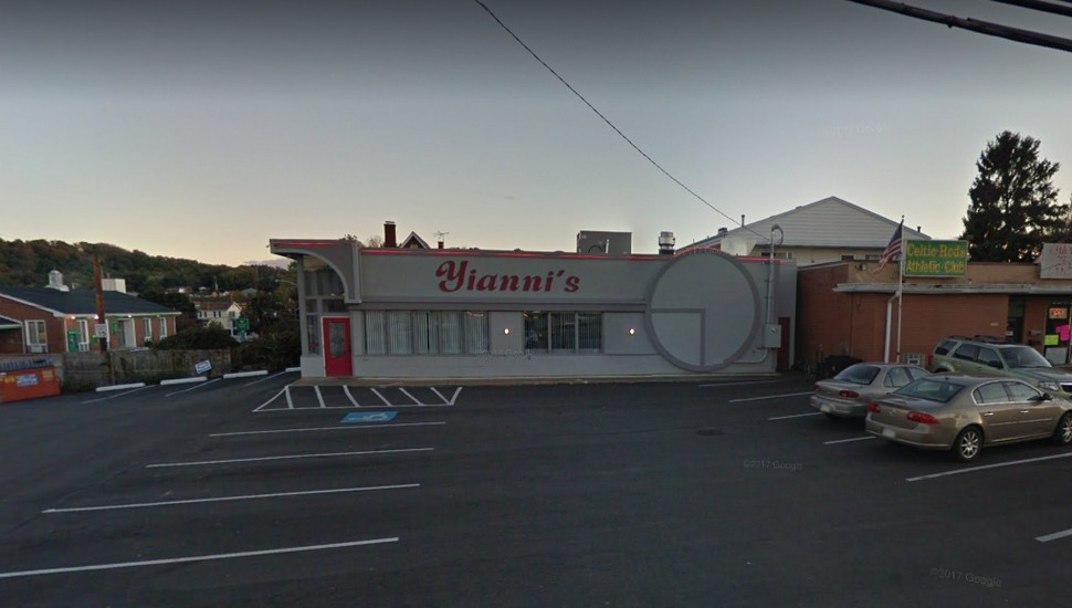 """Inspection at Yiannis Family Restaurant in Aliquippa; """"Many mouse droppings in several corners on the floor of the walk in cooler,"""" 4 violations"""