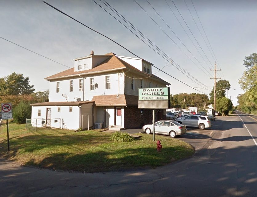 Darby O'Gills in Morrisville bumbles inspection; Rodent droppings found in shelving of liquor closet, ice machine contains a black, mold-like substance