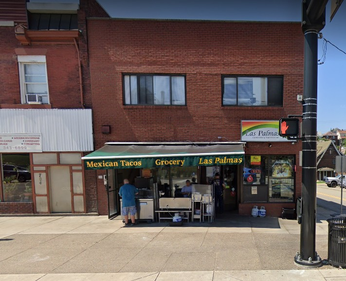 Las Palmas in Pittsburgh fouls 2nd inspection in a month; Hand sink by taco stand was unplugged and not working, face masks below noses
