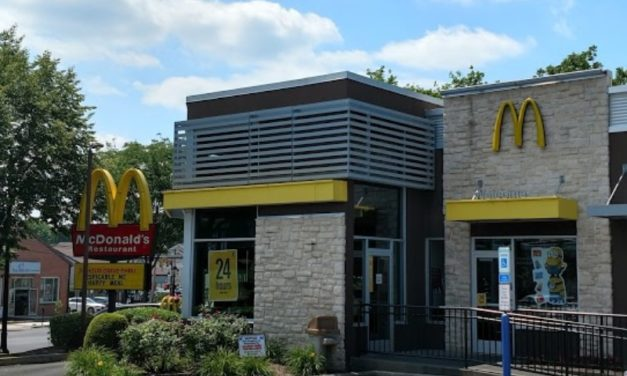 Inspection McDonald's in Hatboro; Several fruit fly like insects were observed at front service area, 7 violations