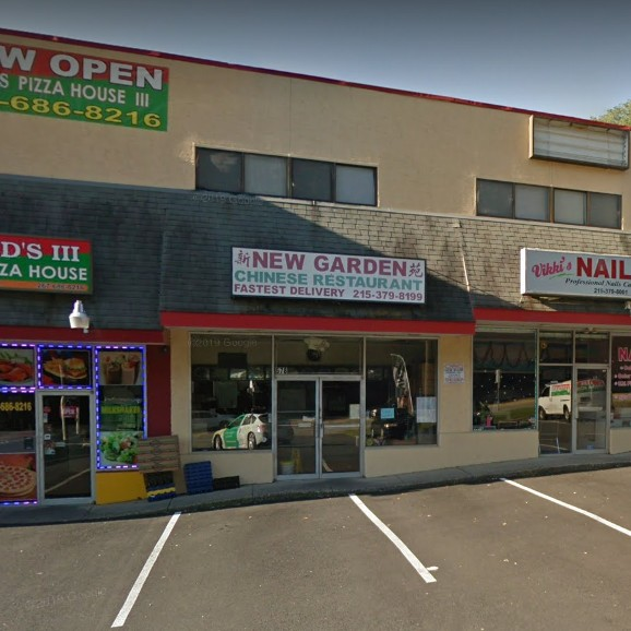 21 violations at New Garden Chinese Restaurant in Cheltenham; Soiled sifter hung from bathroom door closer