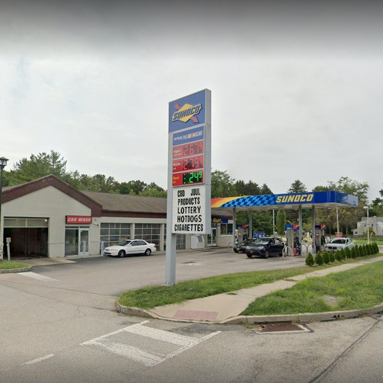 """Health Department; """"Rodent-like droppings observed throughout facility"""" at Blue Bell Sunoco"""