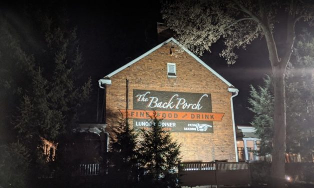 The Back Porch in Belle Vernon fumbles 2nd annual inspection; 6 violations, paint brush and a can of mineral spirits in dish washing sink