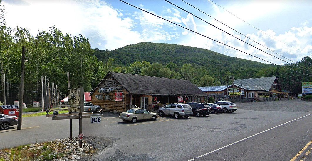 12 violations at Tony's on the Mountain in Tannersville's; Live dog observed on the premise of the food facility in the back dry storage area