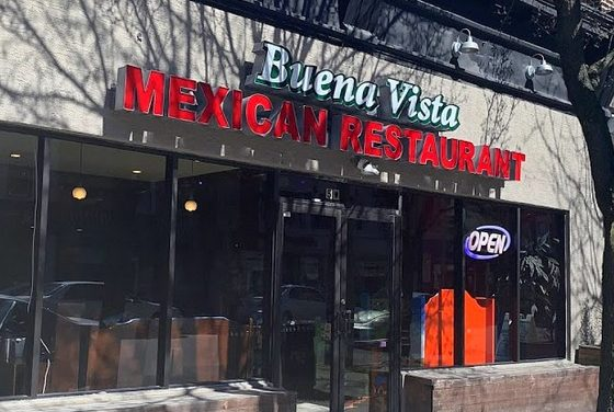 Inspection Buena Vista Mexican Restaurant in Ardmore; 11 violations, No toilet paper available for restroom, Can opener blade unclean
