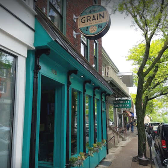Grain Craft Bar and Kitchen Kennett Square inspection; Vegetable juice and fresh fruit were moldy, and soap was not supplied to the upstairs bar or basement prep room hand sinks
