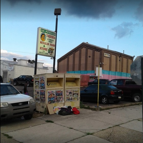 22 violations at Los Potrillos Taqueria in Norristown; Fly-like insects observed throughout facility, cake observed with mold-like growth, Multiple spray bottles of cleaning product stored among food items