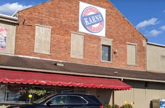 Karn's Quality Foods in Middletown inspection; bagged clams, uncovered raw ground beef stored under dripping condensation