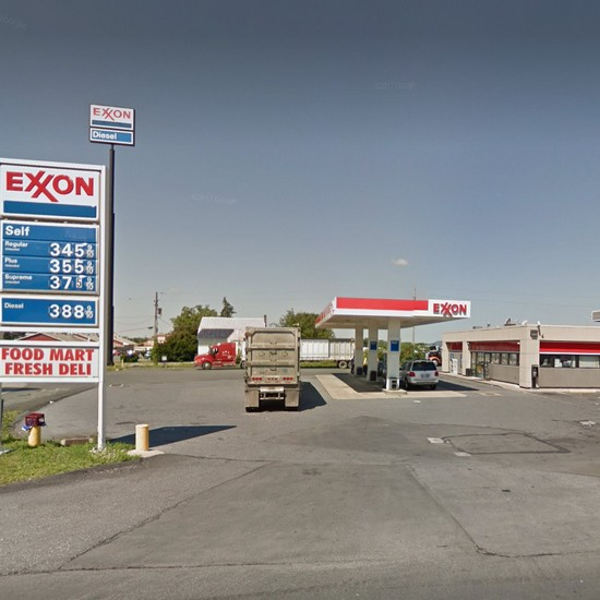 "Inspection Midway Exxon in Bethel;  ""Ice machine has corroded non food grade metal strips at top of interior of the ice machine that are leaving rust stains down the sides of the ice bin,"" 9 violations"