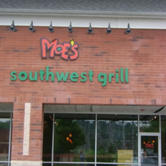 Moe's Southwest Grill Bridgeville fouls inspection; Ice machine has build-up of black slime on door, Fruit flies in back by soda storage and in trash in back office