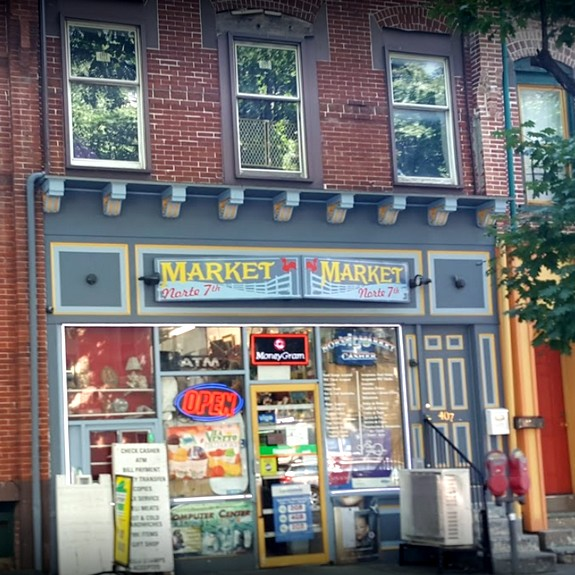 Inspection Norte 7th Market in Allentown; Decaying mouse in rear of store,13 violations