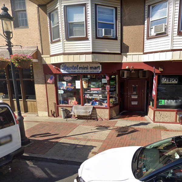 Bristol Mini Market fumbles inspection; Multiple house flies were present inside the facility, live roach-like insect was observed near the deli display cooler