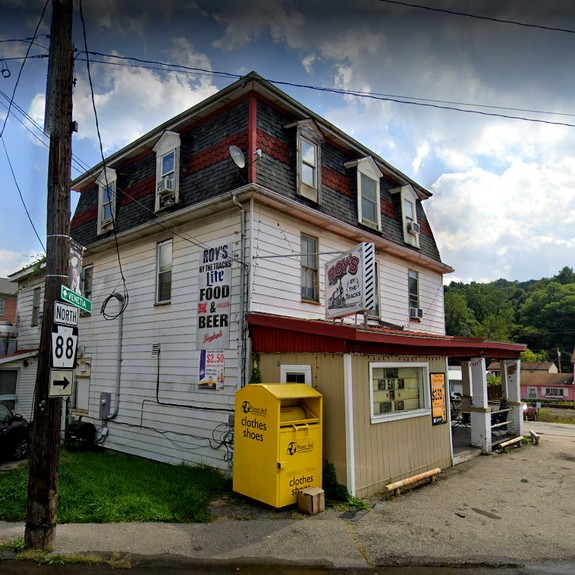 Inspection Roy's by the Tracks in Finleyville; 13 violations, live flies in kitchen and bar area, Live insects, gnats by ware wash sink and garbage can, Build up of water and sludge inside the bottom of the bar keg cooler