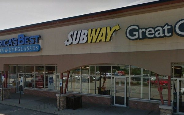 "Greensburg Subway fouls inspection; ""DO NOT USE,"" ""Black filth observed on the interior of the ice machine bin and underneath at discharge chute"""
